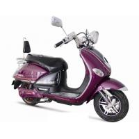 Luxury Purple 800w electric motor scooter Moped / hub motor for adults 60V 20A Battery