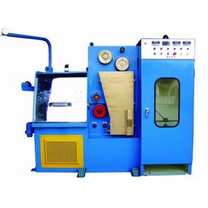 China 24DT Copper Wire Manufacturing Machine With Digital Annealing Voltage Control on sale