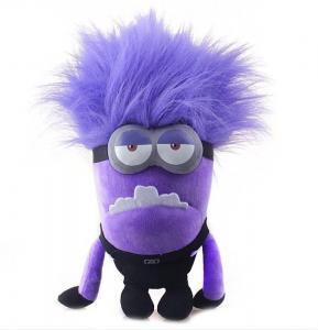 China 12 inch Despicable Me 2 Stuffed Plush Toys Evil Minion for boys on sale