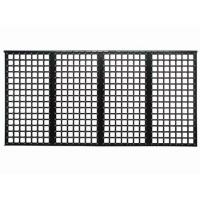 Front 1R1G1B, 3in1 SMD P10 outdoor Led Mesh Screen display with Waterproof IP65