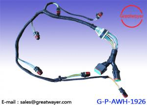 China Protect Shielding 12 Pin Deutsch CAT Engine Wire Harness C15 Generator 2920644 on sale
