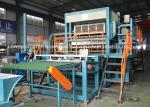 Rotary Waste Paper Egg Tray Machine , Production Line For Egg Tray