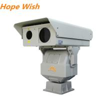 2km Border Surveillance PTZ Infrared Camera , 808nm Long Range Ccd Camera
