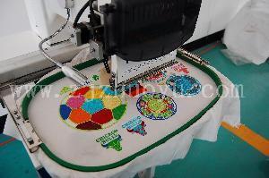 China Single Head Tulubar Embroidery Machine on sale
