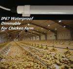 Dimmable T10の養鶏場の照明、SMD2835はコネクターが付いている管ライトを導きました