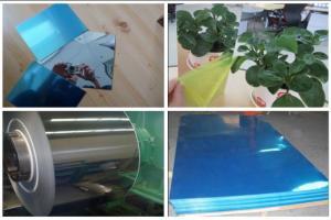 China Flat Reflective Aluminum Lighting Sheet Sun Reflective Sheet  0.2mm Tickness on sale