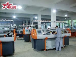 China machine à tricoter automatisée d'appartement on sale