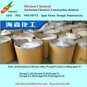 China fatty alcohol-polyoxyethylene ethers/Peregal  O-9/A-20 on sale