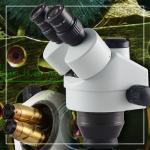 Opto-Edu Zoom Stereo Digital Optical Microscope WF10x / 20mm Eyepiece