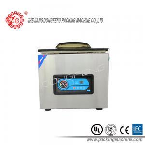 China Автоматическое запечатывание вакуума Адвокатуры запечатывания машины упаковки еды электрическое управляемое двойное подвергает ДЗ-400Б механической обработке on sale