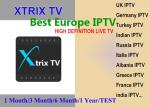 XTRIX TV Europe  IPTV watch UK,Germany,Italia,France,Greece, Arabic,Turkey,India,Cyprus,Russia,Balkan  Channels