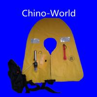 China Automatic Bag/pouch type Inflatable life jacket on sale