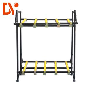 China FIFO Lean Pipe Racking System Anti Rust Colorful Pipe ISO9001 Certification on sale