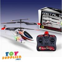 China Mini Infrared Controlled Helicopter Metal Frame W/LED Lights on sale