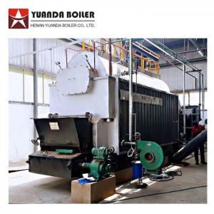 China Industrial Fuel Coal Rice Husk Steam Boiler 4 Ton Per Hour For Rice Mill Plant on sale