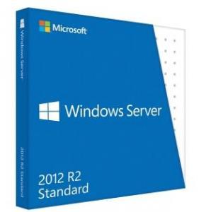 China Wholesale price of Windows Server 2012 standard COA sticker Software retail box on sale