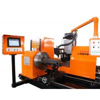 China OD50 - 630mm CNC Pipe Profile Cutting Machine For Steel Structure Fabricating on sale