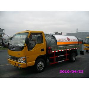 China 4000L 4x2 JAC chassis (115HP) Mobile Refueling truck for Light Gasoline Delivery on sale
