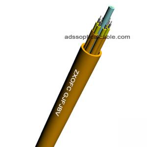 China OM1 OM2 Om3 Fiber Optic Cable GJFJBV 900um , Tight Buffer Fiber Breakout Cable on sale
