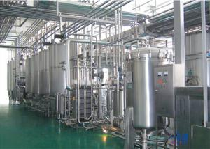 China Complete Automatic Industrial Food Processing Equipment For Milk Dairy / Fresh Milk on sale