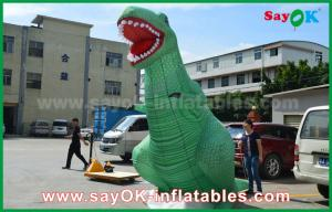 China 3D Model Inflatable Cartoon Characters Jurassic Park Inflatable Giant Dinosaur on sale