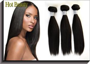 China Raw Peruvian Human Hair Extension , No Chemical Cheap Hair Extension on sale