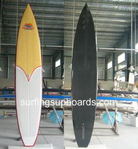 China Custom round bottom 12ft6 Carbon sup race boards Joe Bark Paddleboards on sale