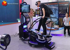Black & Blue Standing Up 9D VR Surfing Motion Simulator Interactive