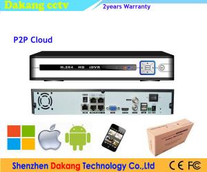 China POE HDMI Network Digital Video Recorder 4 Channel H.264 ONVIF on sale