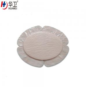 China high absorbent Quick Wound Healing bedsore silicone adhesive wound bandage on sale