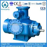 Marine Cargo Oil Pump Twin Screw Type for Diesel Oil Gasline Heavy Fuel Oil Transfer