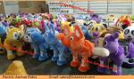 Animal Rides For Sale Stuffed Animals With Wheels Led Light and Music Wheel Animation