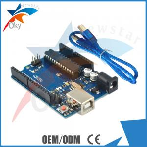 China UNO R3 Development Board For Arduino , Cnc ATmega328P ATmega16U2 USB Cable on sale