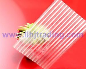 China Crystal Twin Wall Polycarbonate Sheet on sale