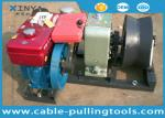Cable électrique diesel rapide de 5 tonnes tirant le treuil pour la construction de puissance