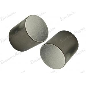 China Big Neodymium  Permenent  Magnets Rare Earth Round Nickel Used in Printer and Switchboard on sale