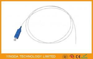 China PVC 1.5Mtrs 0.9mm SC / UPC Fiber Optic Pigtail SM Loose Buffer / Jumper Cable on sale
