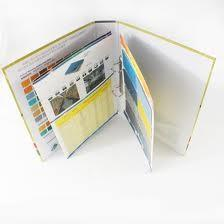 China Customized Catalog Full Color Booklet Printing with Wire ring binding for promotion on sale