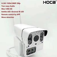 New 1080P 2Mp Outdoor water-proof P2P Wireless IP camera built-in micro and speaker SD card Two ways voice HD WIFI Camer