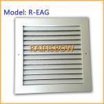 Parrilla de aire de extractor, ventilación, respiradero de aluminio del registro de aire del difusor del aire