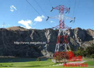 China 230KV cross-river double circuit tension tower on sale