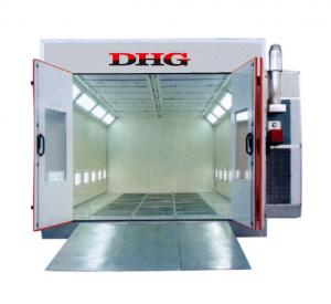 China Global Furniture Autobody Spraybooth Equipment with Riello Oil Burners 380v on sale