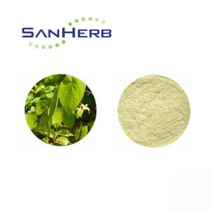 China Brown Yellow Natural Herb Extract , Epimedium Extract Powder Icariin 10% 20% 50% on sale