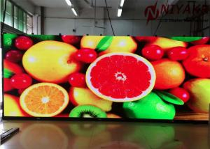 China P 4mm Indoor LED Display Screen Full Colour LED Display 62500 Dots/sqm on sale