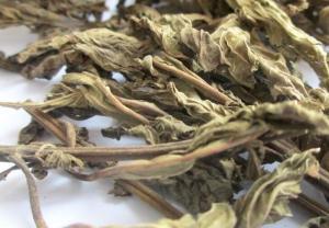 China Rabdosia serra Maxim Hara dried aerial parts Linearstripe Rabdosia Herb xi huang cao on sale