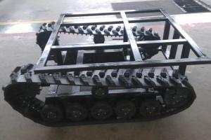 China Load Type Miniature Rubber Tracks , All Season Crawler Undercarriage Parts on sale