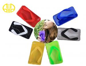 China PMS color Slipper Silicone mobile Phone Protective Cases For Iphone 4S / 5S on sale