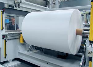 China Paper cup pe coating machine roll laminating machine roll to roll on sale