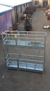 China Safety device window cleaing equipment , suspended aerial platform , working gondola on sale