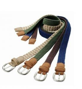 China Casual Braided Belts Knitted Belts For Men on sale